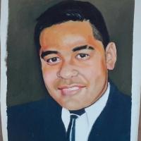 Jnr  Manu,  portrait